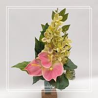 bucaro flor artifical