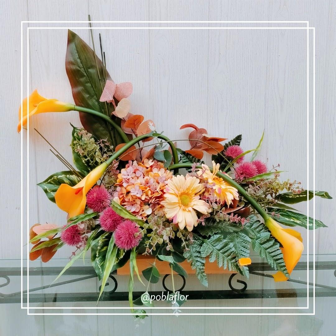 flor aritificial